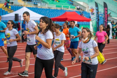 Катерина Чалева е бегач, който всеки път подкрепя Сдружението като тича с тениска с логото ни